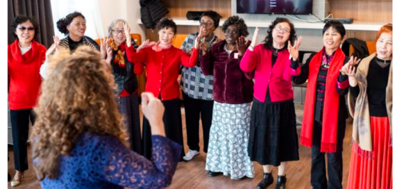The MOSAIC Multicultural Seniors Choir