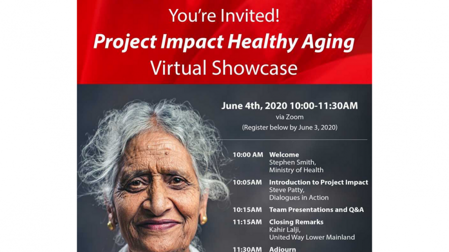 Project Impact Healthy Aging Virtual Showcase