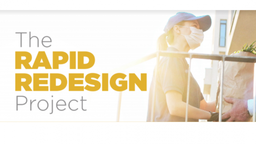 Training sessions: The Rapid Redesign Project