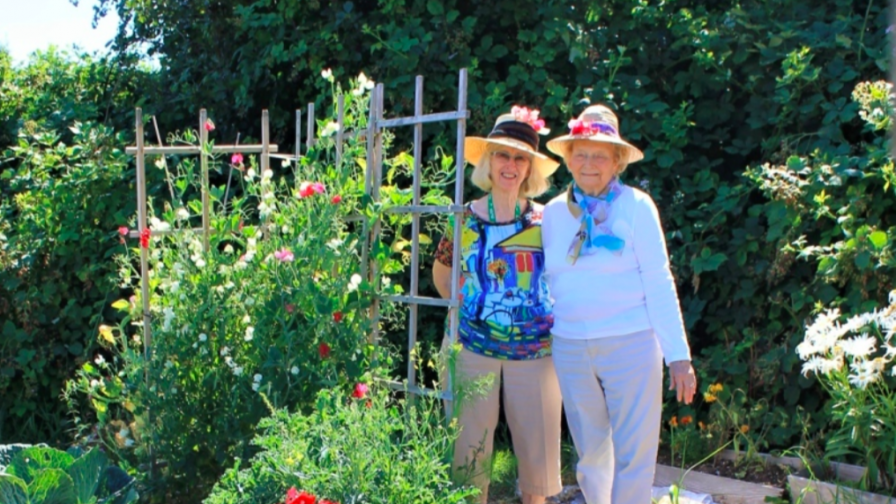Earthwise's Garden Buddies cultivates lasting friendships